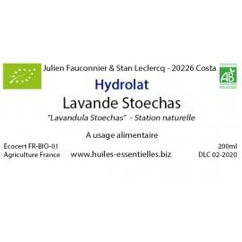 Hydrolat de Lavande Stoechas FR BIO 01